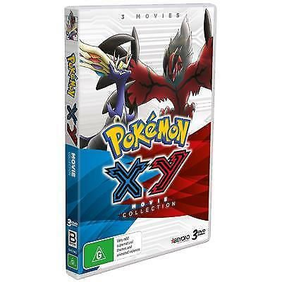 Pokemon - XY Movies   Collection (2018) (DVD) (Region 4) New Release