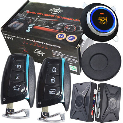 smart key passive keyless entry automatic security alarm systems engine start