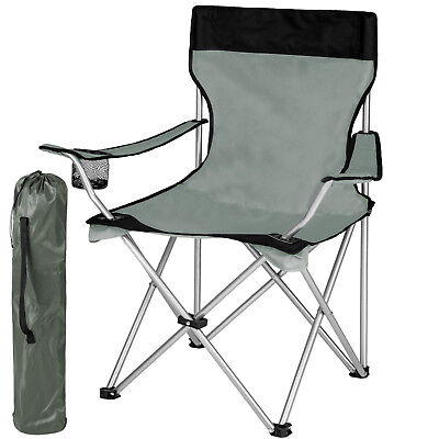 Heavy Duty Folding Camping Directors Chair with Cup Holder Deluxe Portable