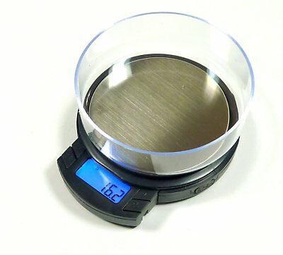 Precision Digital LCD Pocket Scale 1000g x 0.1g Kitchen Jewelry Gold Gram Herb K