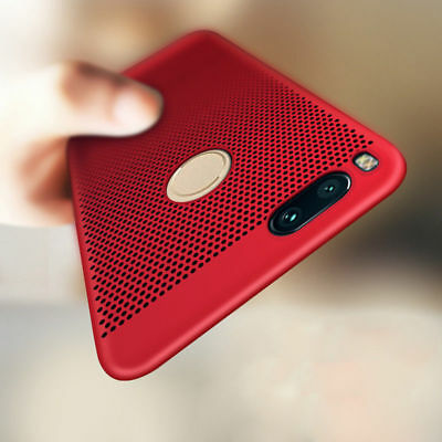 For Xiaomi A1 Mi 5X Shockproof Hot Breathable Slim Shell Hard Back Case Cover
