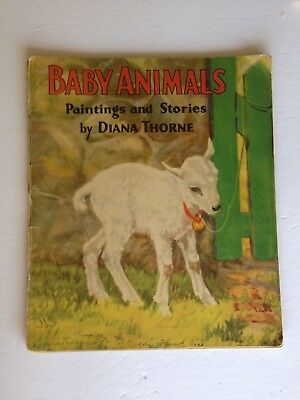 Baby Animals   (No. 874 )  by Diana Thorne- 1932