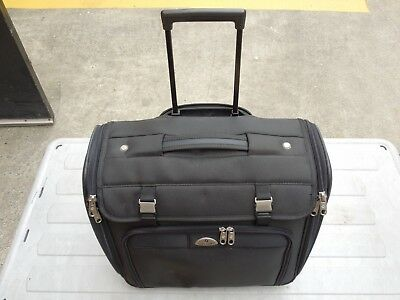 Samsonite Overnight Wheeled Business Case Black New And Never Used