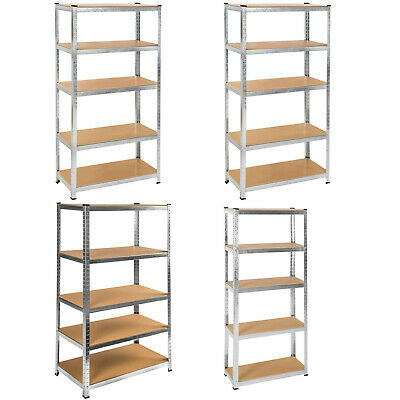 5 tier boltless garage workshop storage racking shelving shelves unit workbench
