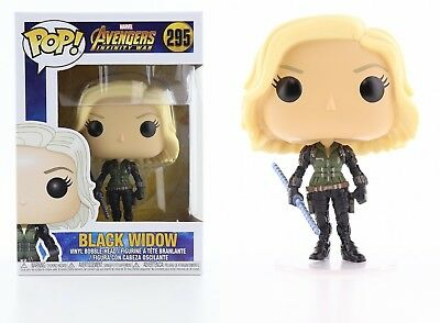Funko Pop Marvel Avengers Infinity War: Black Widow Bobble-Head Item #26468