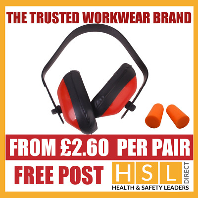 Compact Ear Defenders With Adjustable Head Band  / Ear Plugs SNR 27dB