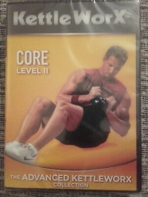 """Kettle Worx """"Core Level 2"""" DVD - The Advanced Kettleworx Collection. BRAND NEW"""