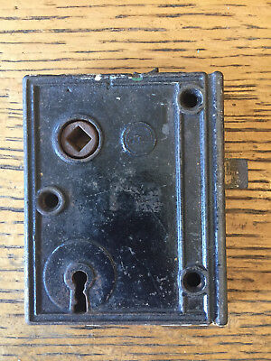 Antique Penn box lock/rim lock