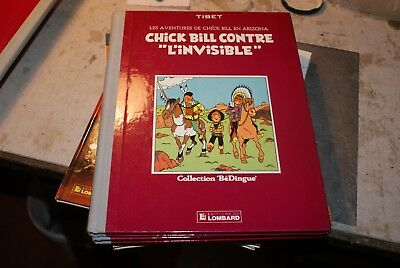 "tibet les aventures de chick bill contre ""l invisible"""