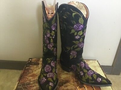 Old Gringo Women's Cowboy Boot - Ziggy Rose - Size 7 NIB Hard to Find