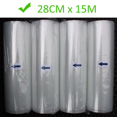 11X50 Rolls Vacuum Sealer Bags Magic Seal Bags 4Mil Embossed for Foodsaver 200ft
