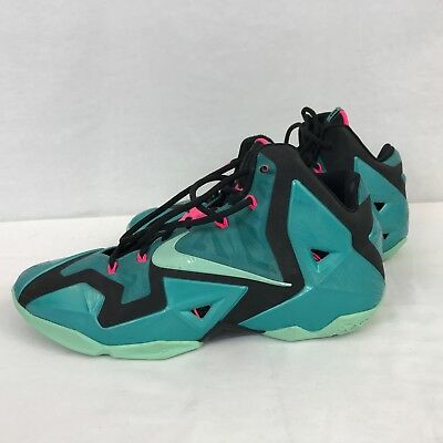 d6d60dac0f7c Nike LeBron 11 South Beach Size 11.5 Turquoise 616175 330 Replacement Insole