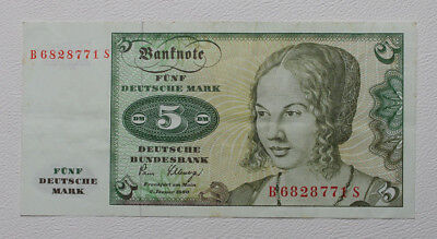 Ro. 285 a ,  5  Deutsche Mark  1980
