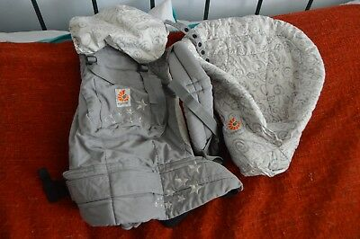 Ergo baby organic cotton carrier with infant insert - Original!