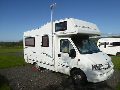 2006 Peugeot Boxer Compass Avantgarde 400 06 plate 2 careful owners from new