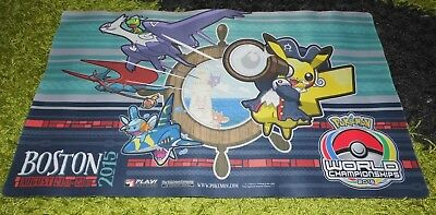 Pokémon SPIELMATTE / PLAYMAT : World Championship Boston 2015 , Pikachu & Latios