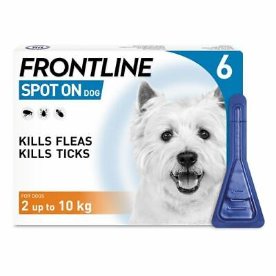 Frontline Spot On Flea & Tick for Small Dogs 2-10Kg - 6 pipettes - AVM-GSL