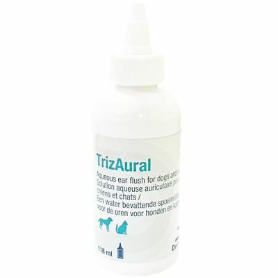 TrizAural Ear Flush for Dogs and Cats - 118ml