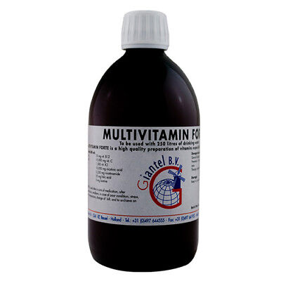 Pigeon Product - Multivitamin Forte 500ml - medication cycle - stress-by Giantel