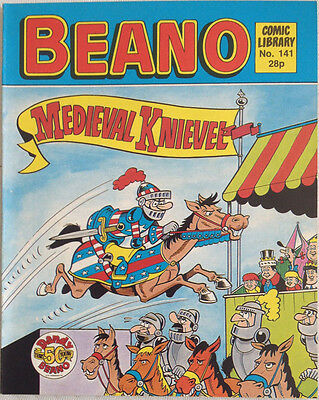 Beano Comic Library 141 Medieval Knievel
