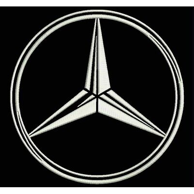Iron Patch bestickt Patch zona ricamata parche bordado MERCEDES-BENZ