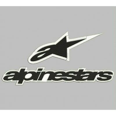 Iron Patch bestickt Patch zona ricamata embroidered patch ALPINESTARS