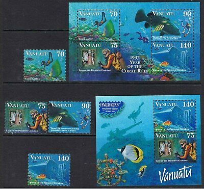 Vanuatu 1997 Pacific 97 Stamps & Mini Sheets
