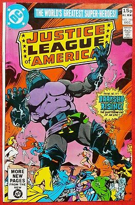 Justice League of America 185 DC 1980 Darkseid appearance