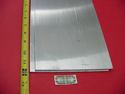 "2 Pieces 1/4""x 8"" 6061 ALUMINUM Bar 12"" long T6 New Extruded Mill Bar Stock"