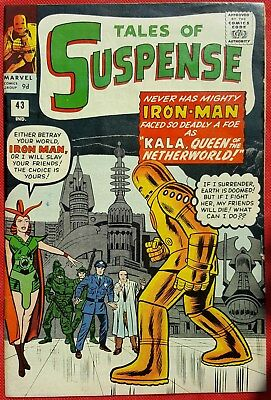 Tales of Suspense 43 1963 1st app of Kala Queen of the Netherworld