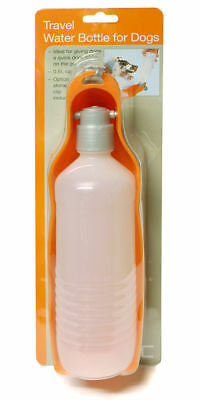 RAC 0.5 Half Litre Folding Portable Travel Water Bottle and Bowl for Dogs