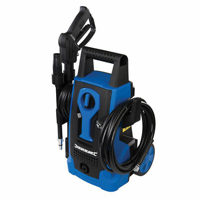 Silverline Compact Pressure Washer 105Bar Max High Power Auto Stop/Start 5m Hose
