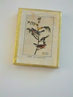 Vintage Antioch Bookplates Birds on a Branch Gummed type 29 qty