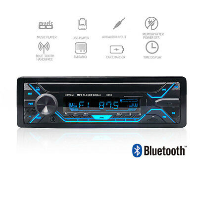 Car Stereo MP3 Player Bluetooth TF Usb Radio Boss Audio Multimedia Players LCD