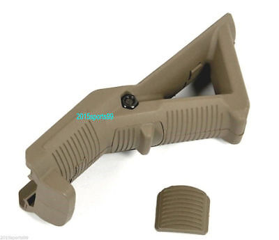 Tactical Angled Foregrip Hand Guard Front Grip for Picatinny Rail - Tan