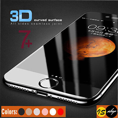 3D Full Coverage Anti Scratch Tempered Glass Screen Protector For iPhone 8 Plus