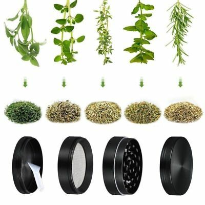 Nice 4 Layers Metal Tobacco Crusher Smoke Herbal Herb Grinder Hand Muller brov