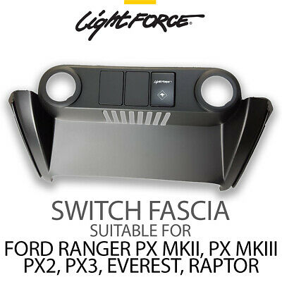 Lightforce Switch Fascia for Ford Ranger PX2 PX3 CBFASCIA TOWPRO DRIVING LIGHTS