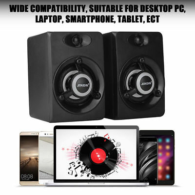 SADA USB Wired LED Colorful Speaker Bass Player Subwoofer for Phone Laptop PC ML