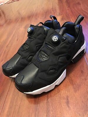 2016 REEBOK BOUNTY HUNTER PACKER SHOES atmos INSTA PUMP FURY AR1991 BxH  BLACK