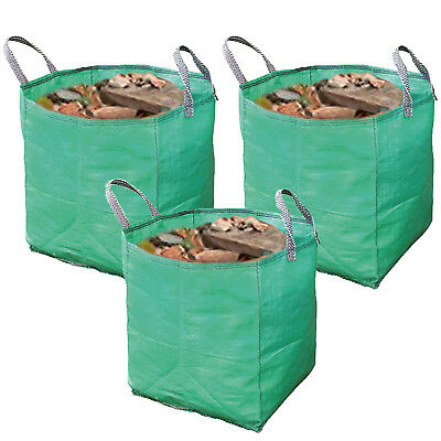 House Moving Storage & Recycling Paper Bottle Card Heavy Duty Woven Bag 120L x 3