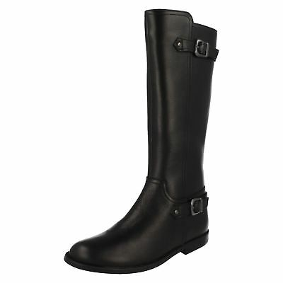 Girls Startrite Riding Style Knee Length Boots 'Gallop'
