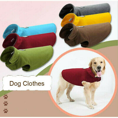 Warm Winter Reflective Pet Puppy Dog Clothes Fleece Reversible Pets Coat Jacket
