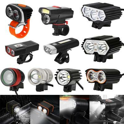Durable LED USB Rechargeable Bycicle Front Light Headlamp Headlight Bike Lamp AM