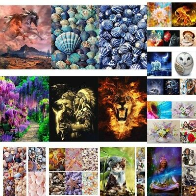 DIY Full Drill 5D Diamond Painting Embroidery Cross Craft Stitch Kit Decor Craft