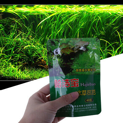 Aquarium Plant Grass Fertilizer Root Tab Capsules Live Fish Water Tank Nutrition