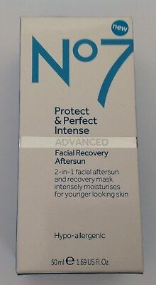 No7 PROTECT & PERFECT INTENSE ADVANCED FACIAL RECOVERY AFTERSUN 50ml