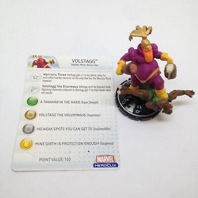Heroclix Hammer of Thor set Gertrude Yorkes and Old Lace #058 Super Rare w//card!