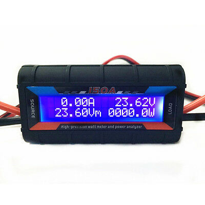 FT08 RC 150A Hight Precision LCD Watt Meter and Power Analyzer With Backlight
