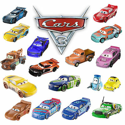 Funny pixar Cars3 2 1 Diecast McQueenRacer Mater King Truck 1:55 Loose Kds Toys